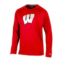 Wisconsin Badgers Men's Varsity Long sleeve Synthetic T-Shirt