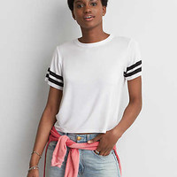 AEO Soft & Sexy Boxy T-Shirt, White