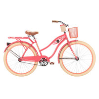 "Huffy Women's Deluxe 26"" Classic Cruiser Bike & Reviews 