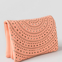 Jacinth Perforated Clutch