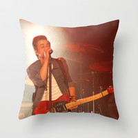 Hunter Hayes (Bloomsburg PA 2013) Throw Pillow by Michelle Albert