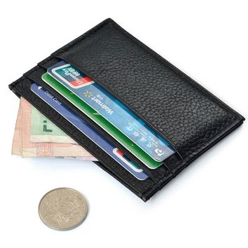 Slim Credit Card Holder Mini Wallet ID Case Purse Bag Pouch