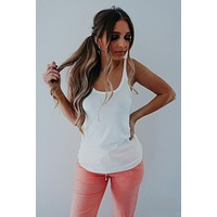 What I Like About You Tank: White