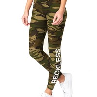 Romy Leggings - Camo