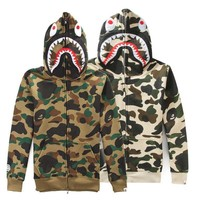 Shark Men's Fashion Winter Men Camouflage Casual Hats [9511603335]