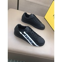 FENDI Men Fashion Boots fashionable Casual leather Breathable Sneakers Running Shoes07060gh