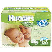 Huggies® Natural Care® Plus Baby Wipes