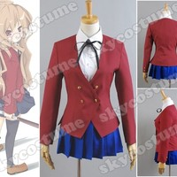 Toradora Gal Uniform Cosplay Costume