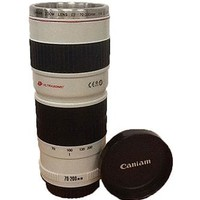 Premium Tall Camera Lens Cup Mug Photographer Gift- SCLENSCUPD
