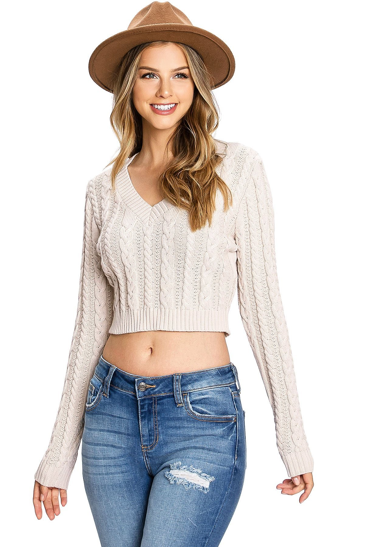 Image of Rosemary Crop Knit