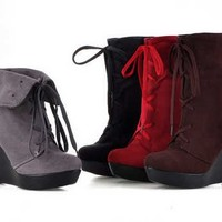Botines Transformables / Convertable Ankle Boots LS308