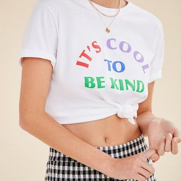 UO Be Kind Tee | Urban Outfitters