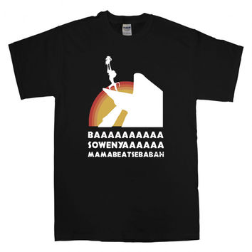 hakuna matata quotes T-Shirt Unisex Adults Size S to 2XL