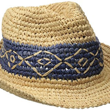 Roxy Junior's Witching Fedora Hat, Chambray, Small/Medium
