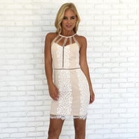 Uptown Girl Lace Dress