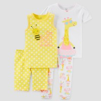 Baby Girls' Pajama Set - Just One You™ Made by Carter's® Yellow