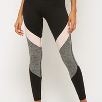 Active Colorblock Panel Leggings