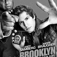 "Brooklyn Nine Nine Brooklyn 99 Poster Black and White Poster 16""x24"""