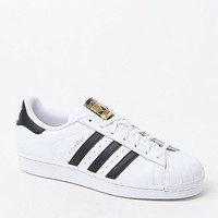 adidas Superstar Low-Top White & Black Shoes at PacSun.com