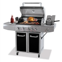 SheilaShrubs.com: Uniflame Gold Deluxe Outdoor LP Gas Barbecue Grill GBC1273SP by Blue Rhino: Propane BBQ's