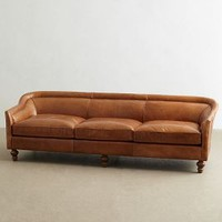 Leather Holloway Sofa by Anthropologie