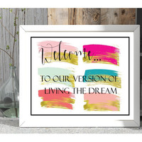 Couples gift, welcome printable, download, new home gift, first apartment wall decor, housewarming gift, watercolor minimal art print, gifts