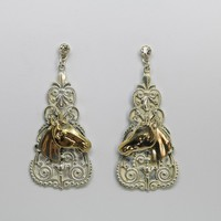 Espana Horse Earrings