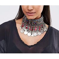 Call Me Gypsy Choker Necklace