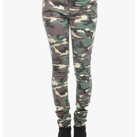 Green Armed and Ready Skinny Jeans   $10.00   Cheap Trendy Jeans Chic Discount Fashion for Women  