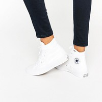 Converse - All Star Chuck Taylor II - Baskets montantes - Blanc at asos.com