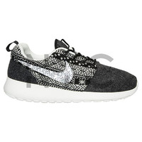 Black Ugly Christmas Sweater Nike Roshe Run Swarovski Crystal Accent Bling Blinged Out