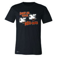 Zexpa Apparel™ Show Me Your Boo-Bees Ghost  Men's T-shirt Halloween Costume Tee