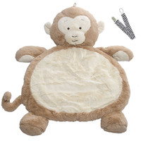 Mary Meyer 02532 Monkey Bestever Baby Mat with Pacifier Clip