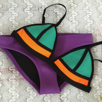 2 Pieces Bikini Swimsuit Set