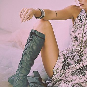 FP Collection Womens Memphis Lace Up Boot