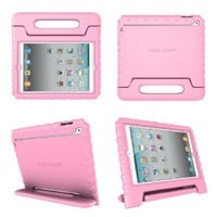 iPad Case for Kid's iPad 2,3,4 by Justin Case (Pink)