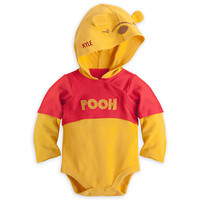 Winnie the Pooh Bodysuit Costume for Baby - Personalizable