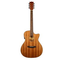 Kala KA-GTR-MTS-E Thinline Mahogany Steel String Acoustic-Electric Guitar