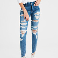 AE Ne(X)t Level Denim X High-Waisted Jegging, Super Destroy