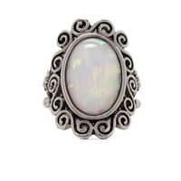Iridescent Cocktail Ring | Forever 21 - 1000204955