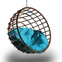 Urban Balance Sphere Hanging Chair (Multiple Colors/Materials) by Outback Company | UBC 996-SPC 491,UBC 996-SPC 507,UBC 996-SPC 514,UBC 996-SPC-085,UBC 989-SPC 491,UBC 989-SPC 507,UBC 989-SPC 514,UBC 989-SPC-085,UBC 972-SPC 491,UBC 972-SPC 507,UBC 972-SPC