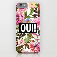 OUI iPhone & iPod Case by Text Guy