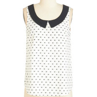 ModCloth Critters Mid-length Sleeveless Plenty of Fish in the Spree Top