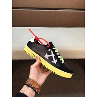 OFF-WHITE Men's 2020 New Fashion Casual Shoes Sneaker Sport Running Shoes