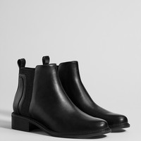 Flat stretch ankle boots - Best Sellers ★ - Bershka United States