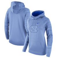North Carolina Tar Heels Nike Women's All-Time Performance Pullover Hoodie - Carolina Blue