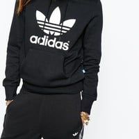 adidas Originals Pull Over Hoodie With Trefoil Logo