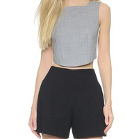 Carven Crop Top