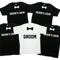 Groom And Groomsmen Shirts Bachelor Party Shirts Bachelor Party Gifts Best Groomsmen Gift Ideas Wedding Party Shirts Groom Gift - SA332-665