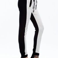 Two To Two-Tone Drawstring Joggers